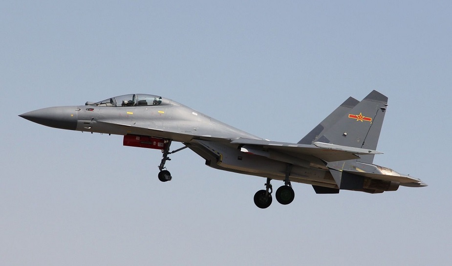 Shenyang J 16 Red Eagle Fighter Jet data pictures video 01