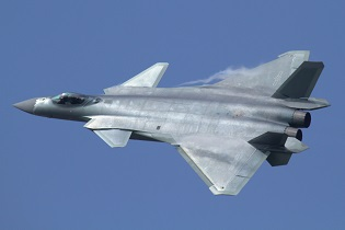 Chengdu J 20 Mighty Dragon Fighter Jet data pictures video 04
