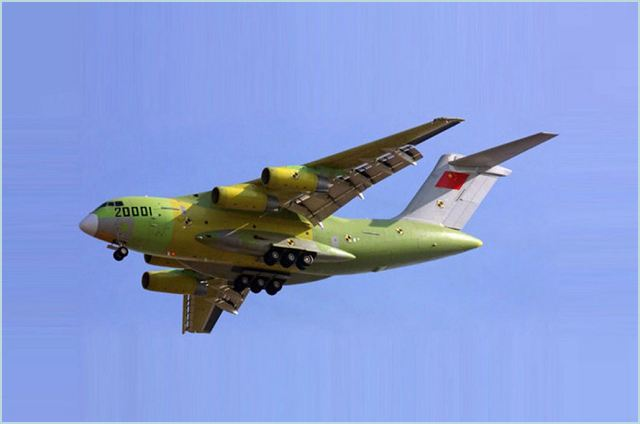 On Jan. 26, China successfully completed the maiden flight of Y-20, a heavy military freighter independently developed by China. It is reported that part of the interior components of the Y-20 are made of the anti-flaming glass fiber reinforced epoxy resin and glass fiber reinforced phenolic resin prepreg composite, the development of which was led by the No. 703 office of No.1 institute of CASC and with the joint participation of many other units of this cooperation.