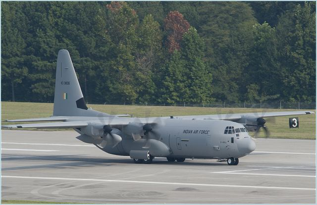 The fifth of six C-130J Super Hercules on order for the Indian Air Force has departed the Lockheed Martin facility in Marietta.