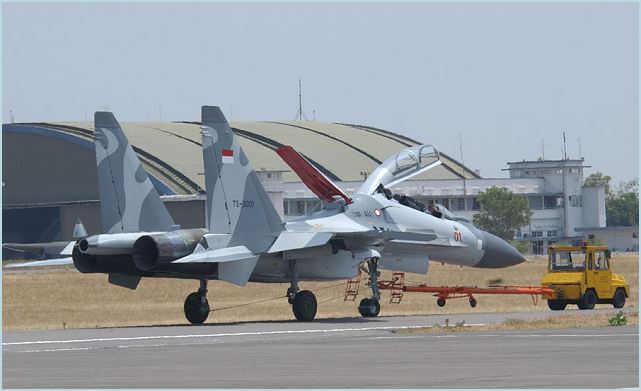 Indonesian air forces recently received two of the six Sukhoi Su-30 MKII fighter jets it ordered from Russia, lifting its Sukhoi family aircrafts in operation to 12. The delivery of the two Su-30 MKIIs was conducted late last week, and the fighters arrived in Indonesia's Hasanuddin air force base in Makassar, South Sulawesi province on Friday, February 22, 2013, evening.