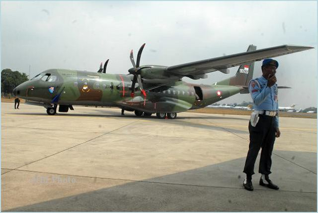 Indonesian defense ministry received the delivery of CN295 turbo propeller transport/cargo plane from PT Dirgantara Indonesia (PTDI) on Thursday, which would eventually be handed over to the military to reinforce its multipurpose transporter fleet.