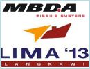 At the Langkawi International Maritime and Aerospace exhibition LIMA 2013, MBDA will again demonstrate its unique status as the only company with a product catalogue capable of meeting the guided weapons requirements of all three armed services: air, land and sea.
