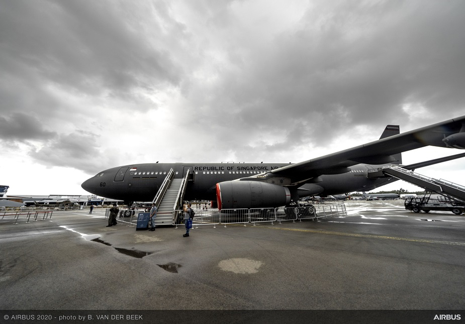 Singapore AirShow 2020 Airbus and Singapore collaborate on A330 SMART Multi Role Tanker Transport development