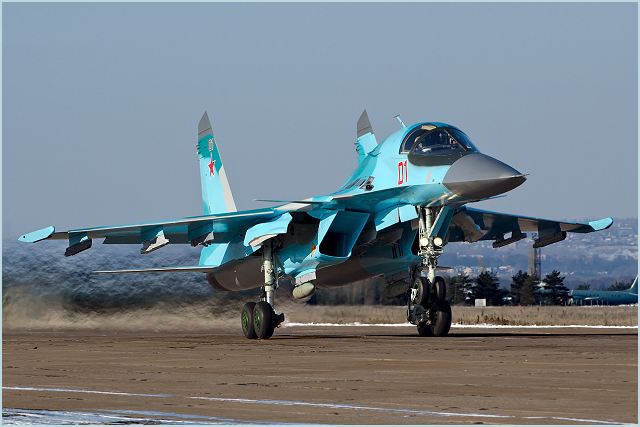 The ceremony of transfer of the serial Su-34 front-line bombers to the Russian Air Force was held Tuesday, July 9, 2013, at the Novosibirsk branch of the Sukhoi Company — V.P. Chkalov Novosibirsk aircraft plant (NAZ).