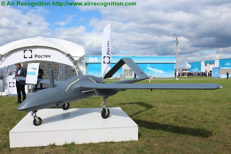 MAKS 2019 Debuts of multipurpose Korsar UAV export version