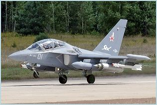 Yak-130 Yakovlev combat trainer aircraft technical data sheet specifications intelligence description information identification pictures photos images video Russia Russian Air Force aviation air defence industry
