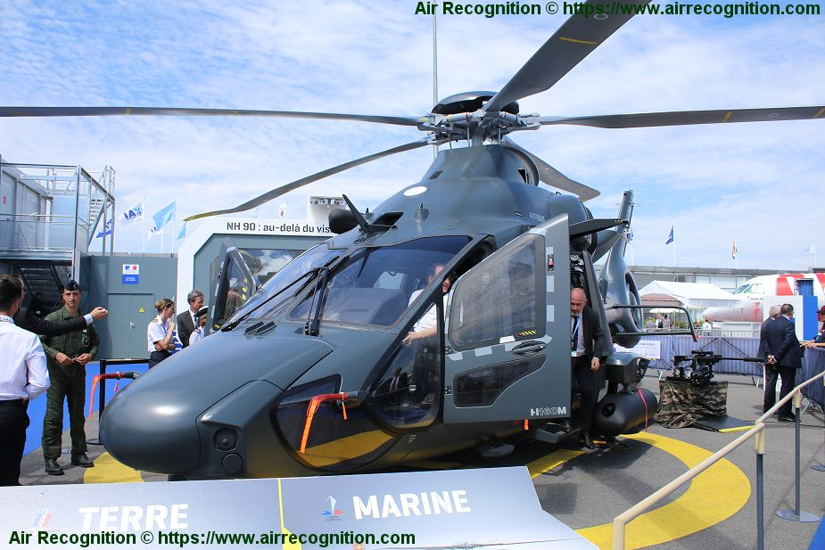 French Joint Forces Light Helicopter Guepard will be fitted with FN Herstal machine gun pod Paris Air Show 2019 925 001