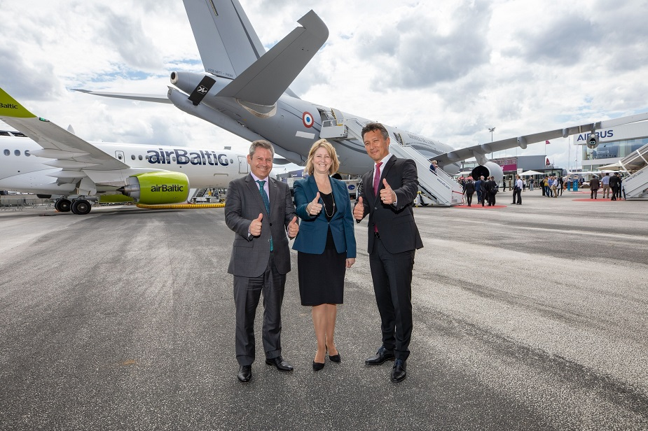 Paris Air Show 2019 Lockheed Martin and Airbus reaffirm tanker partnership