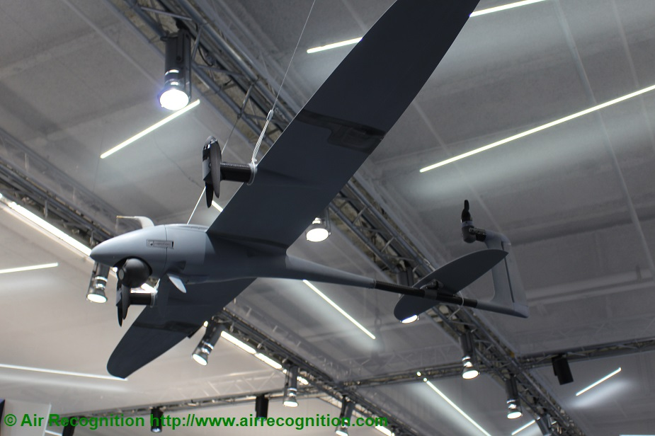 Paris Air Show 2019 Quantum Systems and ESG present Vector and Scorpion UAS VECTOR