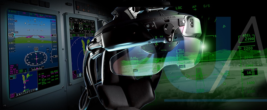 Paris Air Show 2019 Universal Avionics presents new fly by sight concept with interactive SVS
