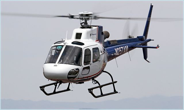 AS350 B3 light transport helicopter data sheet specifications intelligence description information identification pictures photos images video France French Air Force aviation aerospace Eurocopter defence industry military technology