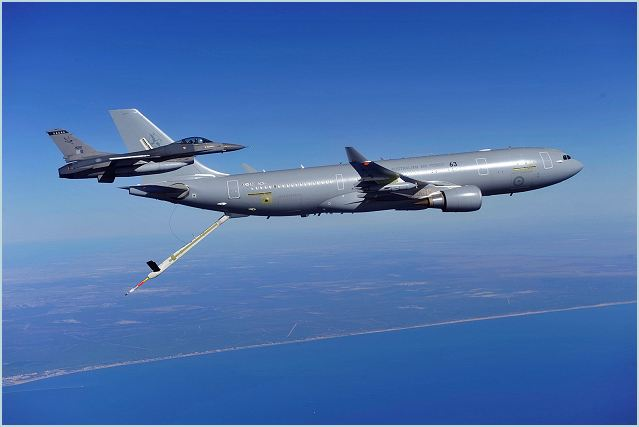 The French Air Force will sign a contract for between five and seven A330 Multi-Role Tanker Transports in 2013, with quick deliveries foreseen, according to its commander General Jean-Paul Palomeros. Budget difficulties thwarted earlier French attempts to procure a new tanker. (Source AINonline)