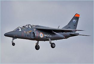 Alpha Jet Dassault Dornier light attack advanced trainer aircraft data sheet specifications intelligence description information identification pictures photos images video France French Air Force aviation aerospace defence industry military technology