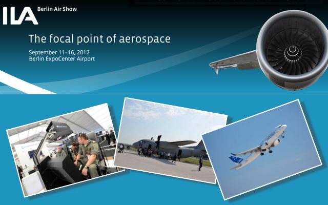 ILA 2012 Berlin Air Show pictures photos images video International aviation aerospace defence exhibition German Germany