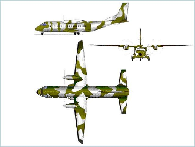 C-295 C295 military transport aircraft technical data sheet specifications intelligence description information identification pictures photos images video Spain Spanish Air Force defence industry technology