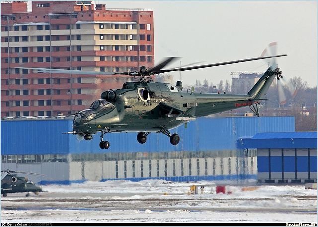 Russia conducted test flights of Mi-35M helicopters, which were produced by Rosvertol Company in Rostov-Don, Russia. In September–October 2010, Azerbaijan purchased 24 Mi-35M from Rhe Russian Company Rostvertol.