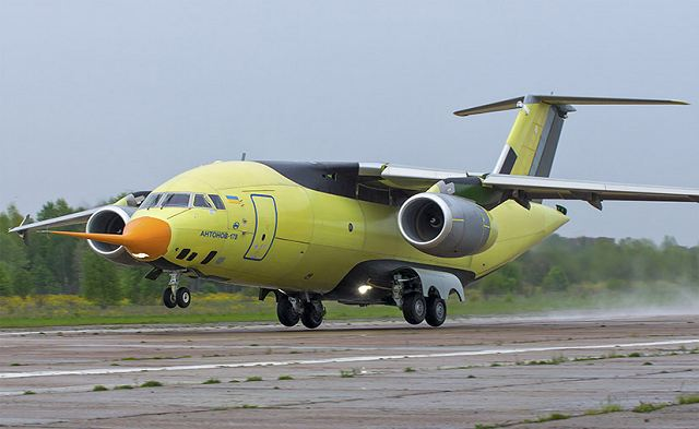 An-178 military transport aircraft technical data sheet specifications intelligence description information identification pictures photos images video Antonov Ukraine Ukrainian Air Force defence industry technology