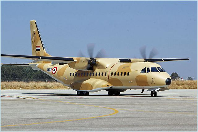 The Egyptian Air Force (EAF) today has taken delivery of its first Airbus Military C295. The aircraft in military transport configuration, was delivered ahead of contract schedule. This aircraft is part of a three aircraft order placed by the EAF in October 2010. The other two aircraft are to be delivered during the last quarter of 2011.