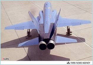 Saeqeh Azarakhsh-2 Saeqeh-80 Thunderbolt fighter aircraft HESA technical data sheet specifications intelligence description information identification pictures photos images video Iran Iranian Air Force defence aviation industry military technology