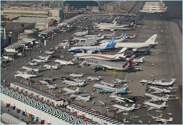 The Dubai Airshow organisers F&E Aerospace are forecasting this November's event to be the largest event in their 26 years. The Dubai Airshow takes place 17 to 21 November 2013 and is moving to a new purpose built home at Dubai World Central (DWC), located in Jebel Ali, Dubai.