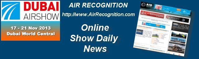 Your advertising in the Online Show Daily News Dubai Air Show 2013 Air Recognition