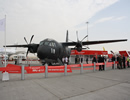In particular, Alenia Aermacchi displays at the Dubai Airshow 2013 the multi mission MC-27J aircraft (static area), developed in partnership with ATK. For the MC-27J Alenia Aermacchi and ATK have adopted a modular approach maximizing the use of mission-pallet kits (Roll-On/Roll-Off equipment), for both systems and armaments.