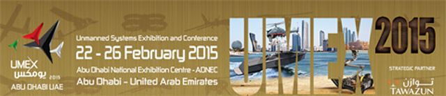 The biennial International Defence Exhibition and Conference (IDEX), one of the world's biggest joint defence exhibition, is bringing the next generation of defence technology to the region through the launch of yet another key pillar – the 1st Edition of the Unmanned Systems Exhibition (UMEX) 2015. This first edition of UMEX will take place at Abu Dhabi National Exhibition Center in Abu Dhabi (UAE) from 22 to 26 February.