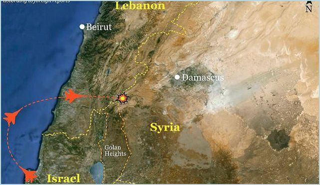 Israel launched a rare airstrike inside Syria, U.S. officials said Wednesday, January 30, 2013, targeting a convoy believed to contain SA-17 anti-aircraft air defense missile systems bound for Hezbollah militants in Lebanon. No official comment was made by the Israeli Defense Forces or by any Israeli official on this attack.
