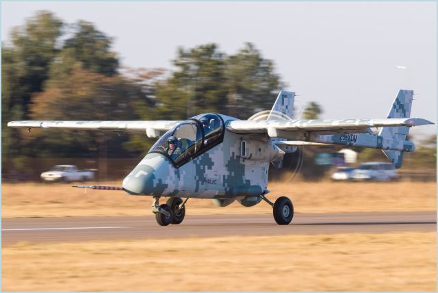 Paramount Group, Africa's largest privately-owned defence and aerospace company, reached a momentous occasion today with the first public flight of its Advanced High-Performance Reconnaissance Light Aircraft (AHRLAC), at the Wonderboom Airport in Pretoria. AHRLAC is the first military fixed wing aircraft to be fully designed, tested and developed in Africa.