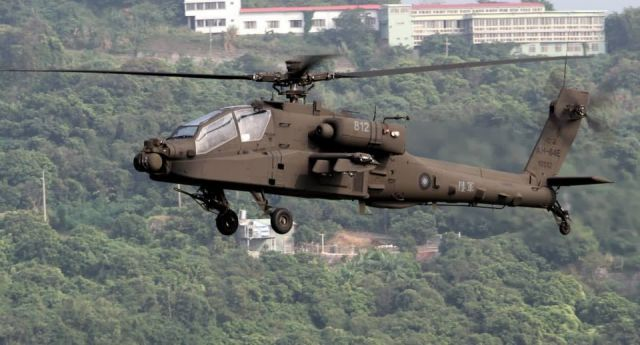 Taiwan has taken the delivery of six more AH-64E Apache attack helicopters from the United States, the fifth and final batch of a NT$59.31 billion (US$1.95 billion) order for 30 of the newest Apache model. They flew to an Army Aviation Special Forces base in Tainan Sunday evening after being unloaded and assembled in the southern port city a day earlier, the Army said.