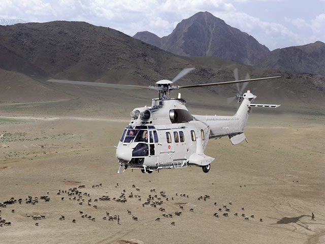 The Bolivian Air Force (FAB) has selected the latest high-power version of the Super Puma to fight drug trafficking and perform public-security and disaster relief missions throughout the country. The contract includes a logistics package that will support fleet sustainability in the coming years. The first two helicopters will be delivered this year and the remaining four before 2016.