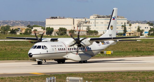 Airbus delivered third and last C295 tactical airlifter to the Philippines 640 001