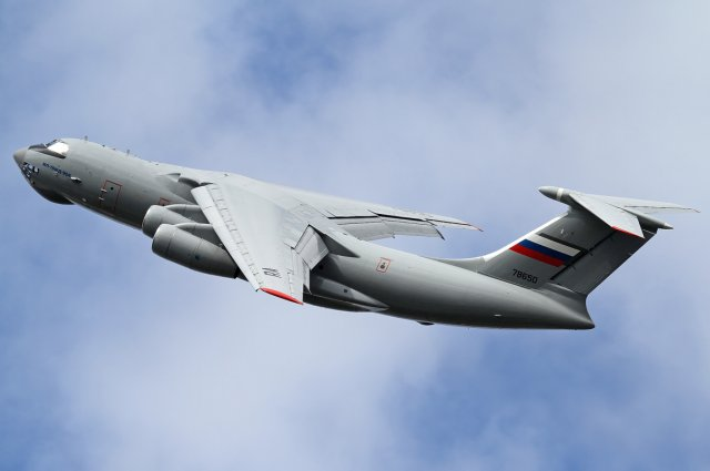 Aviastar SP officially hands over first upgraded Il 76MD 90A to the Russian Aerospace Force 640 001
