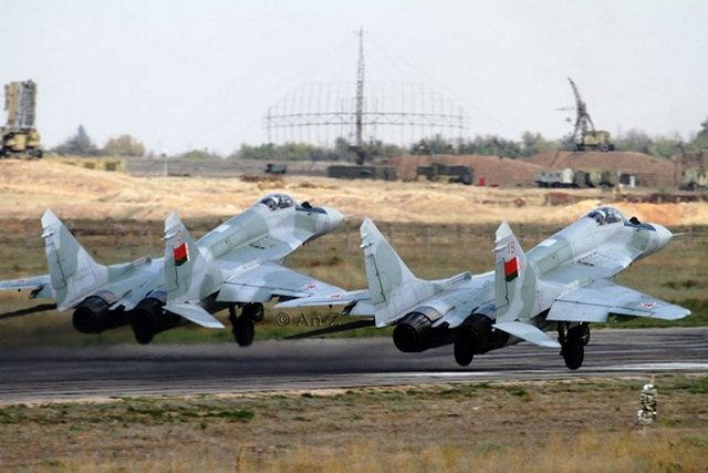 Belarus takes delivery of ten overhauled MiG 29 fighter aircraft 640 001