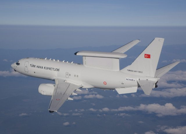Boeing delivers final Peace Eagle AEW C aircraft to the Turkish Air Force 640 001