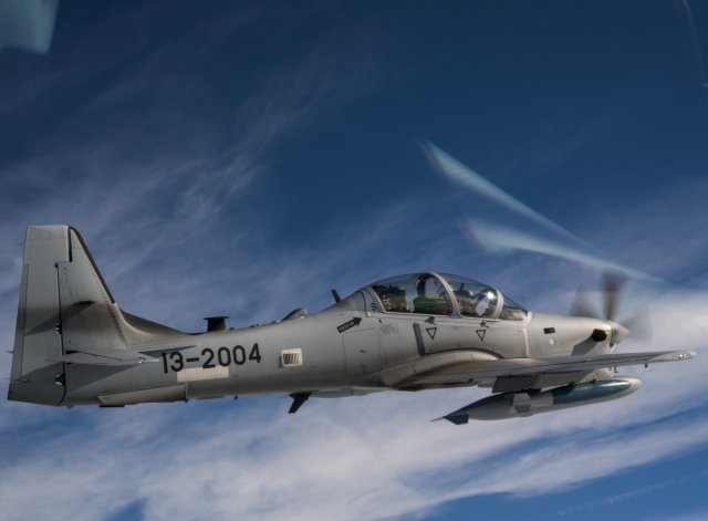 First A 29 Super Tucano Afghan pilots now ready for combat 640 001