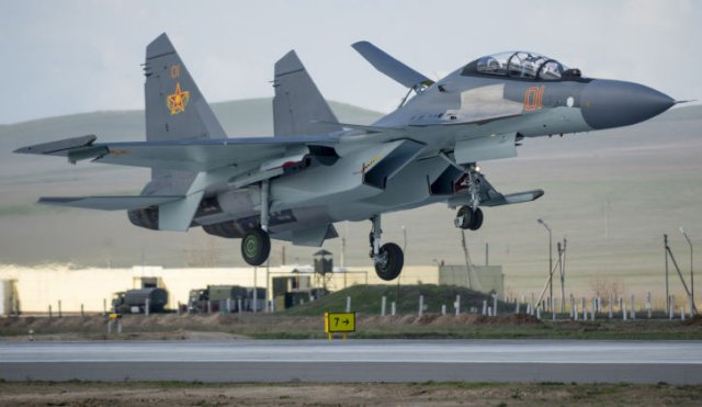 Kazakhstan considers the acquisition of up to 24 Su 30SM fighter aircraft 640 001