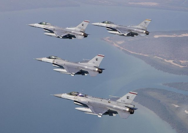 Lockheed won a contract to upgrade Singapore s F 16 fighters fleet 640 001