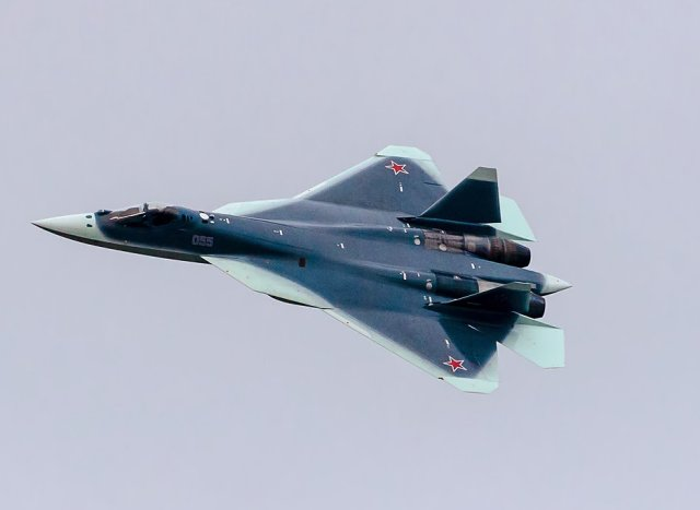 Russia T 50 PAKFA fifth generation fighter aircraft achieves flight tests campaign 640 001