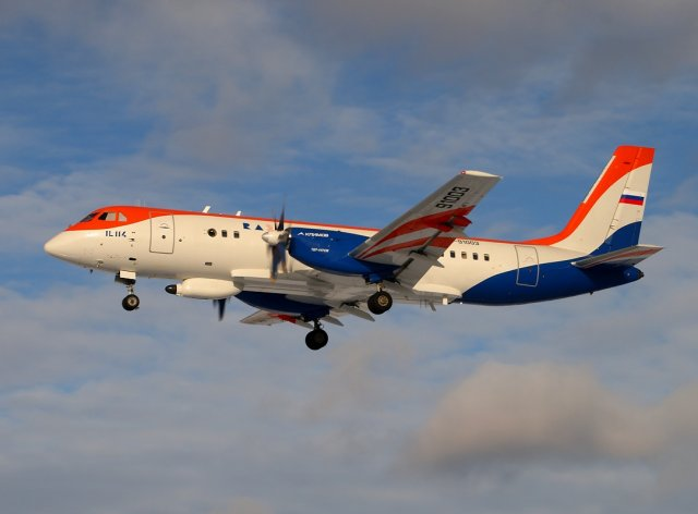 Russia could purchase Il 114 turboprop aircraft for patrol missions 640 001