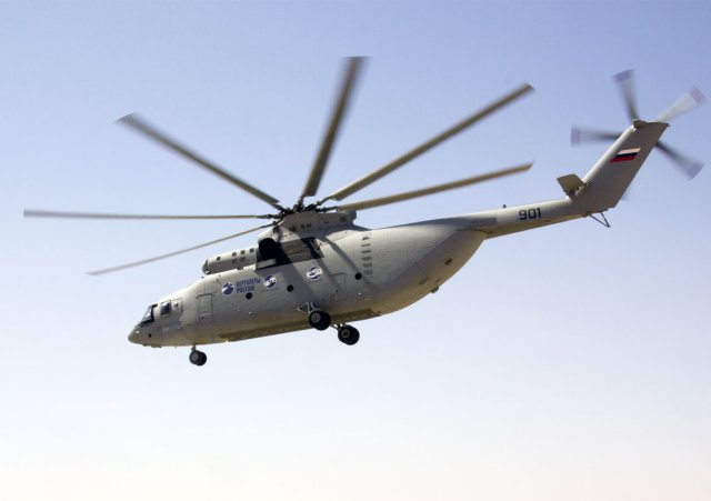 Russian Mi 26T2 heavylift helicopter to be modified for Artic Region 640 001
