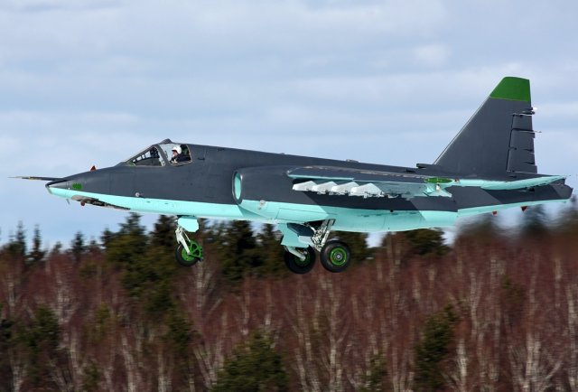 Trials campaign of the first two upgraded Su 25SM3 fighter aircraft to start before 2015 end 640 001