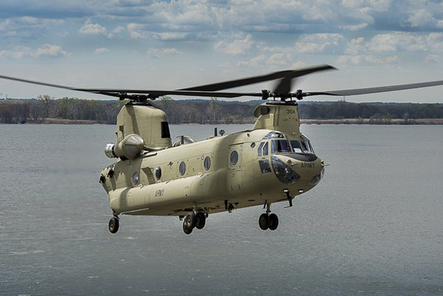 US oks possible FMS fromAustralia for three CH 47F Chinook transport helicopters 640 001