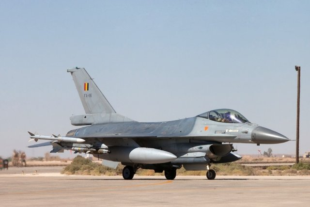 Six Belgian F-16s sent to the Middle East to combat the Islamic State (IS) in September 2014 returned home on Thursday. The six F-16 Fighting Falcon fighter aircraft had started Desert Falcon mission on September 24, 2014, and since then conducted almost 300 strikes in Iraq from their base in Jordan.