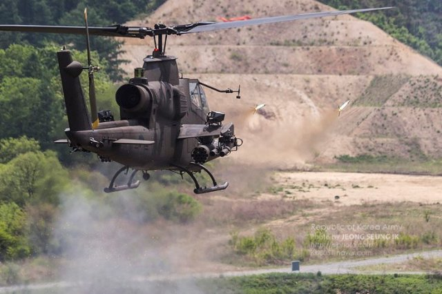 South Korea to Develop Indigenous Guided Missile for AH-1 Helicopters to Replace TOW ATGM