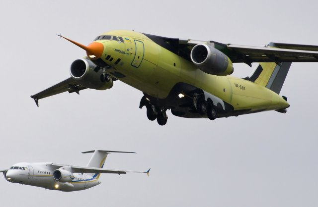 On May 7, 2015, the AN-178 new transport aircraft, created by Antonov in cooperation with partners from 15 countries, performed maiden flight, Antonov announced Thursday, May 7. First revealed in February 2010, the twin-jet An-178 is intended to replace the An-12 'Cub', the An-26 'Curl', and An-32 'Cline' airlifters.