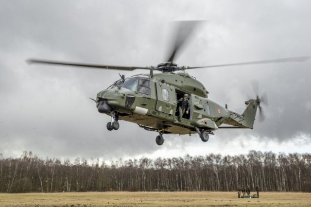 First Belgian NH-90 Squadron Achieves Initial Operational Capable (IOC)