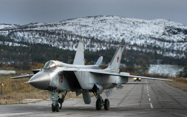 New squadron of upgraded MiG 31BM aircraft delivered to Russian Air Force 640 001