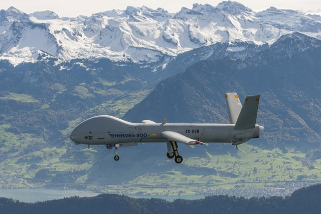 Switzerland officially orders six Hermes 900 HFE UAVs from Elbit Systems 640 001